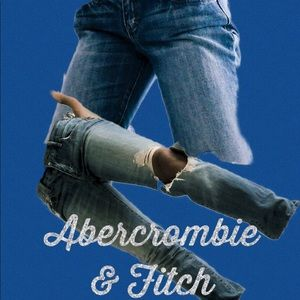 Abercrombie & Fitch Erin jeans straight 2r